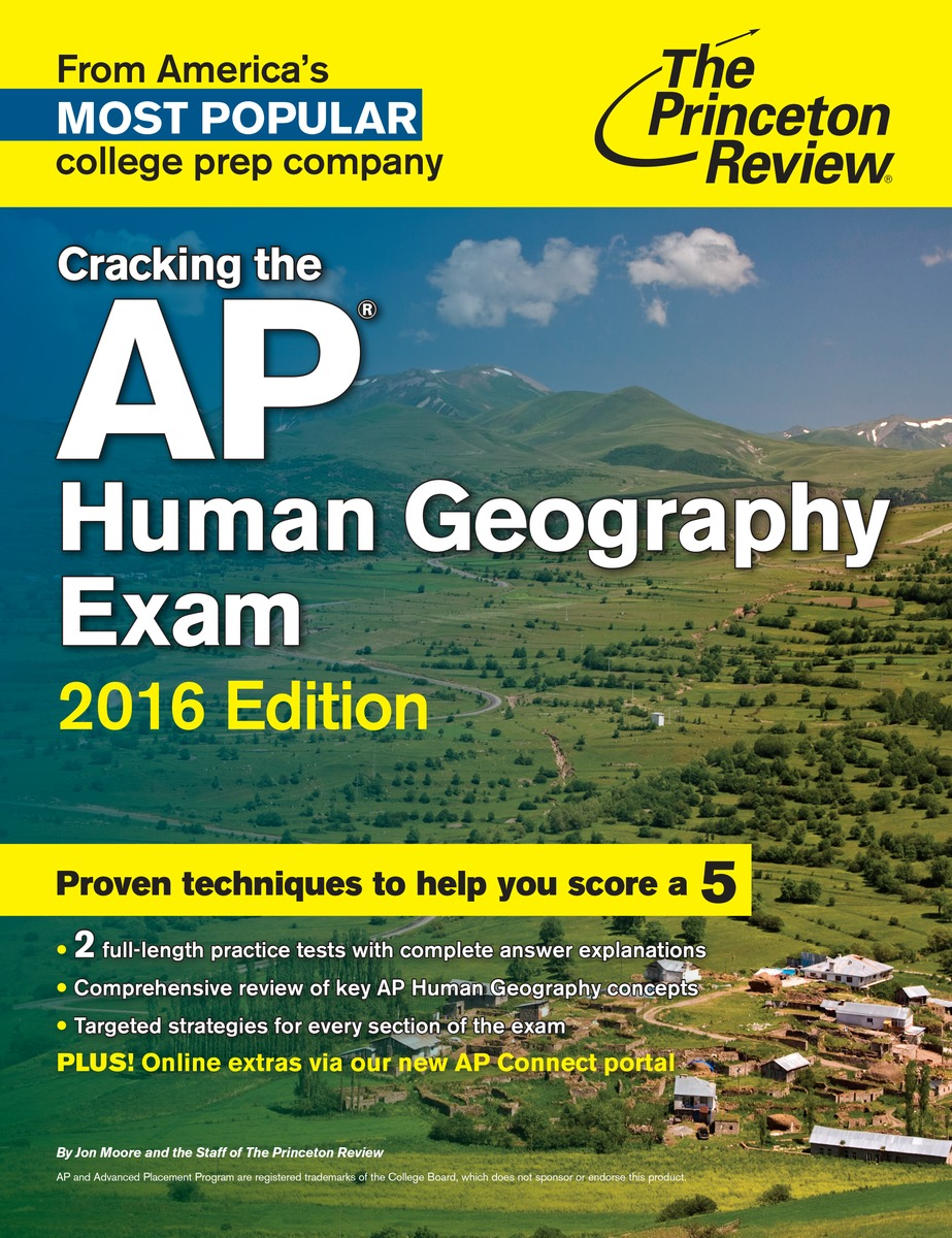 Cracking the AP Human Geography Exam defender avr initial 1000