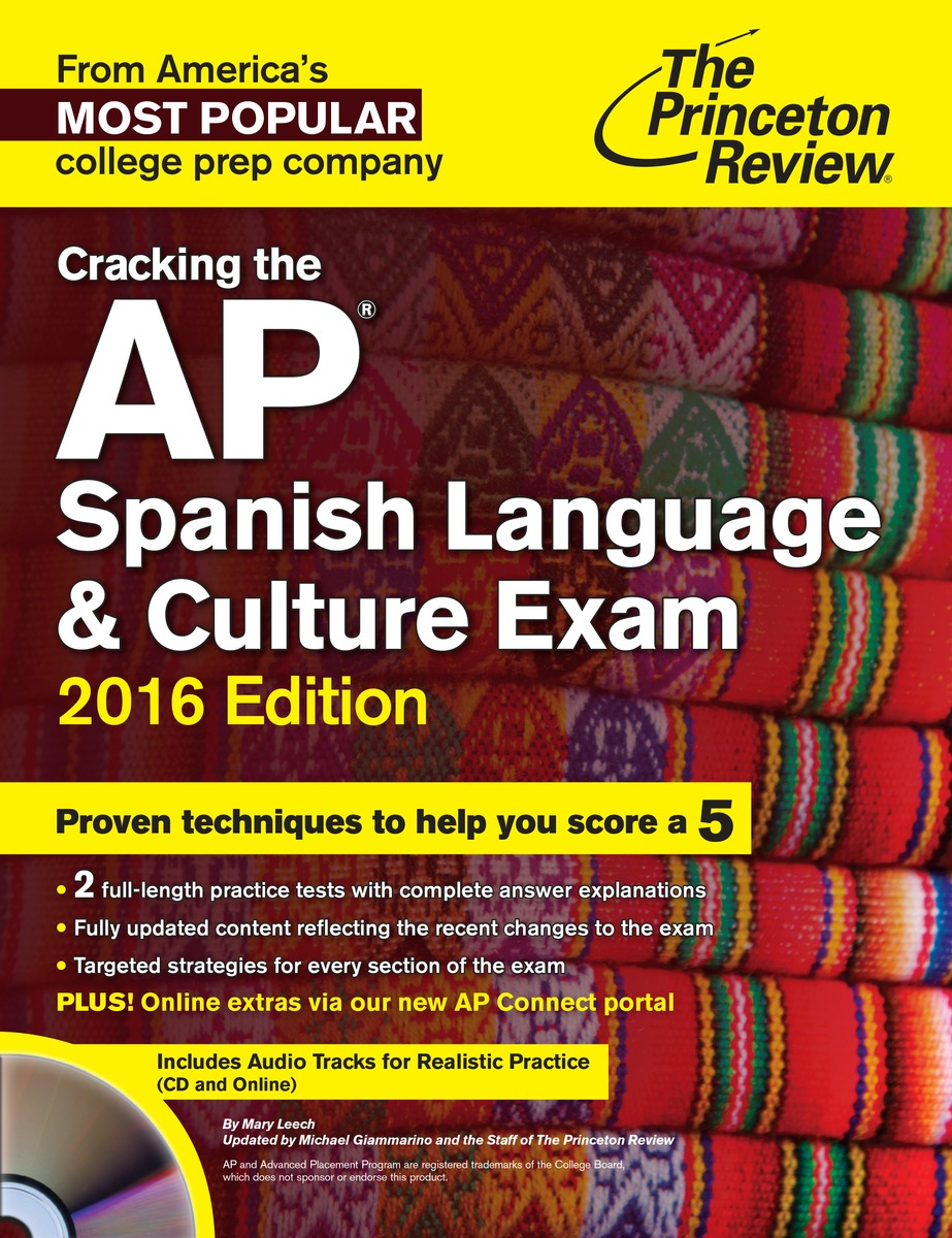 CRACK AP SPANISH CD 2016 team up 1 sb reader with audio cd