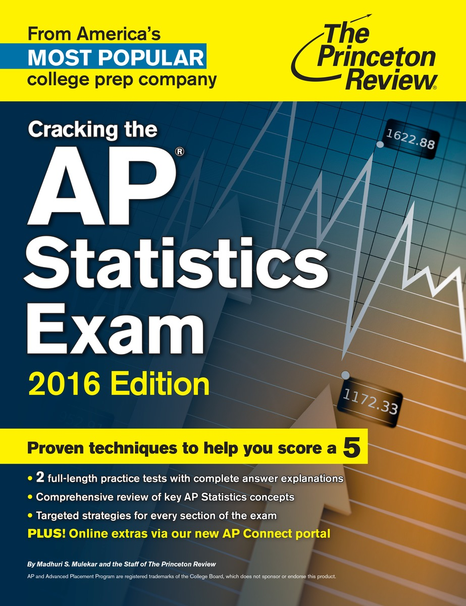 Cracking the AP Statistics Exam. 2016