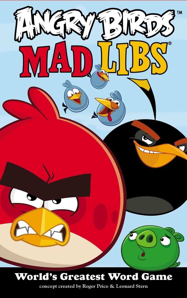 ANGRY BIRDS MAD LIBS the amazing world of gumball mad libs