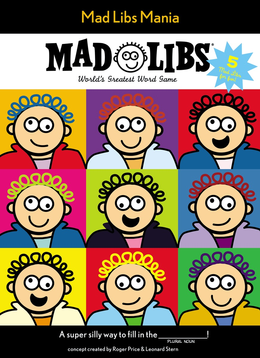 MAD LIBS MANIA the amazing world of gumball mad libs