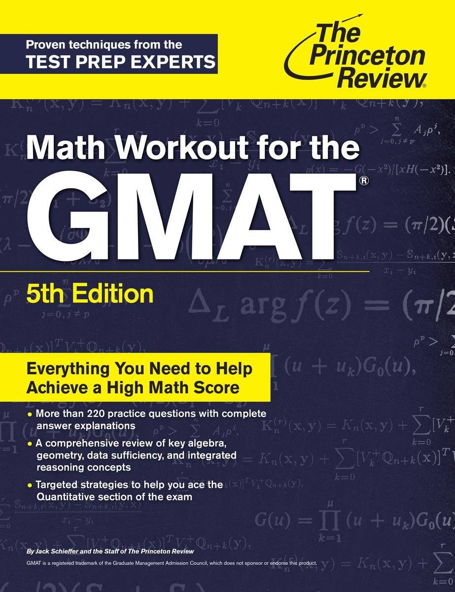 MATH WORKOUT FOR GMAT 5ED цена