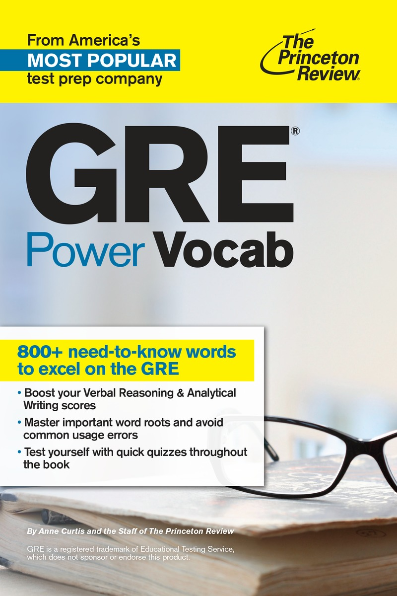 GRE POWER VOCAB gre verbal and writing chinese edition