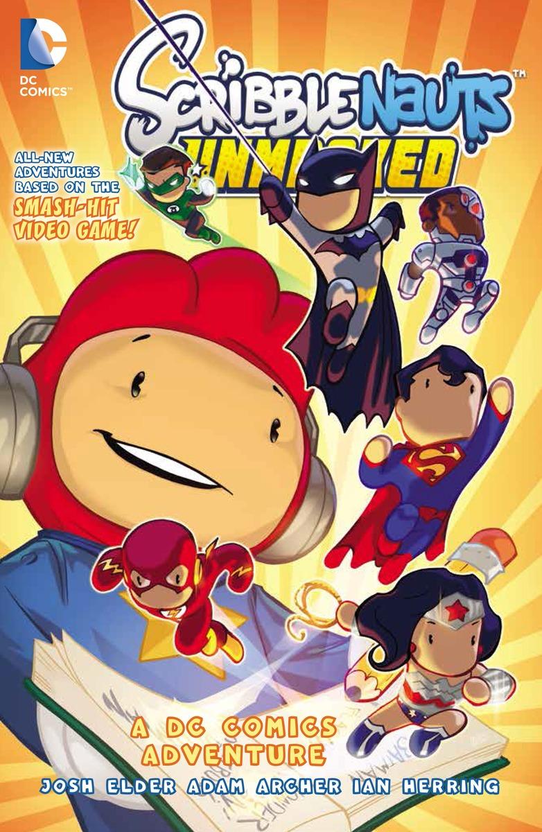 SCRIBBLENAUTS UNMASKED scribblenauts unmasked a dc comics adventure