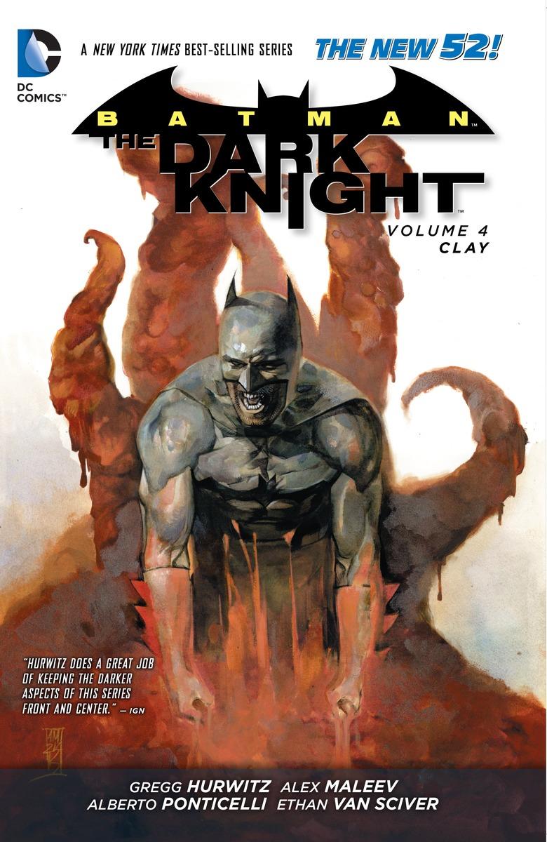 BATMAN - DARK KNIGHT V4 CLAY batman dark knight volume 3 mad