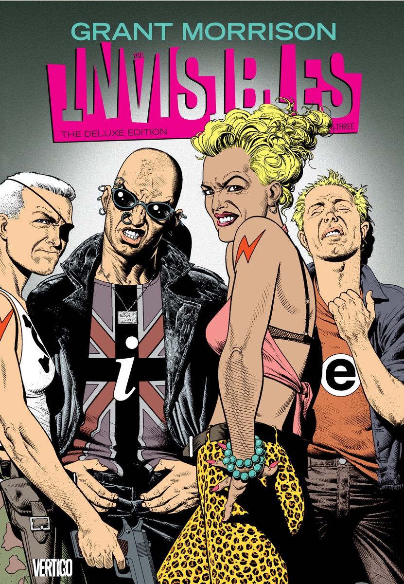 The Invisibles: The Deluxe Edition the invisibles the deluxe edition book four