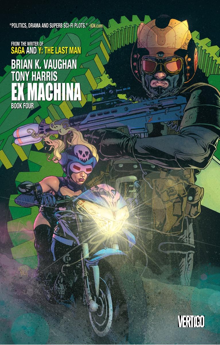 EX MACHINA BOOK FOUR ex machina book 2