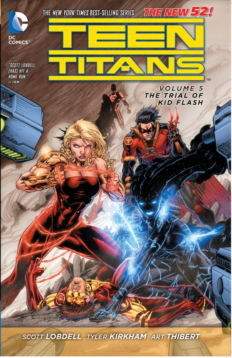 TEEN TITANS V5: THE TRIAL tiny titans vol 01