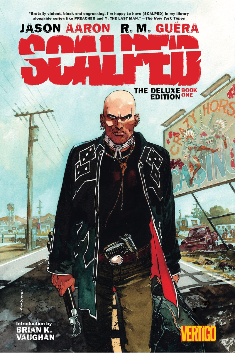 Scalped Deluxe Edition: Book 1 a cat a hat and a piece of string