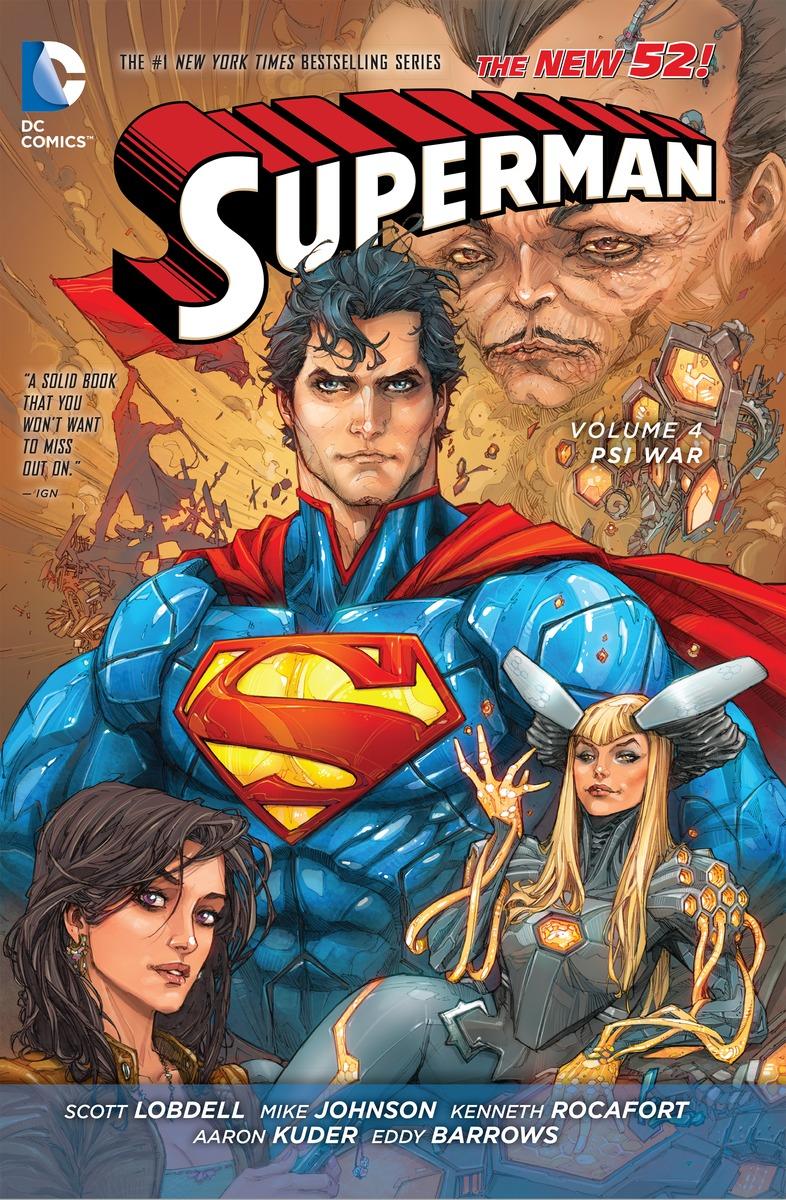 SUPERMAN VOL. 4: PSI-WAR lobdell scott superman vol 4