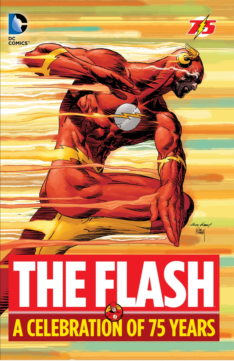 The Flash: A Celebration of 75 years the flash by geoff johns book three