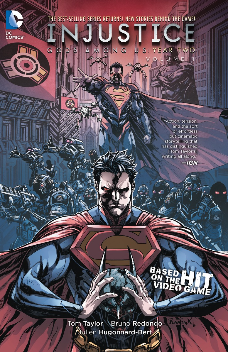 INJUSTICE YEAR 2 VOL. 1 injustice gods among us year five vol 2