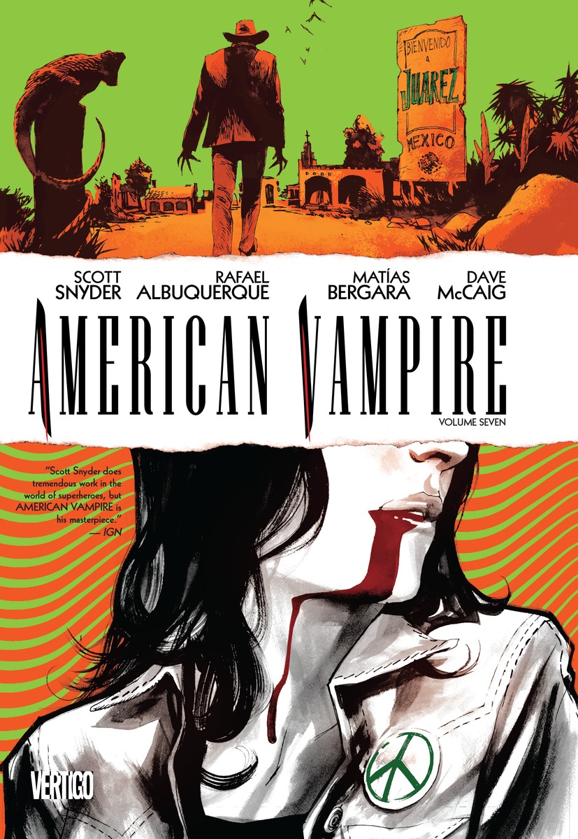 AMERICAN VAMPIRE VOL. 7 american vampire vol 2