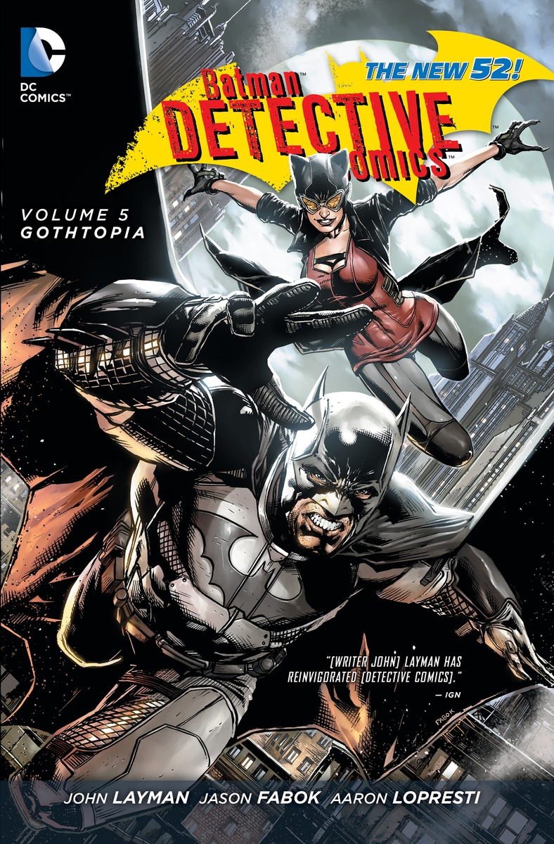 BATMAN: DETECTIVE COMICS V5 дини пол крамер дон фаучер уэйн бэтмен detective comics убойная прогулка