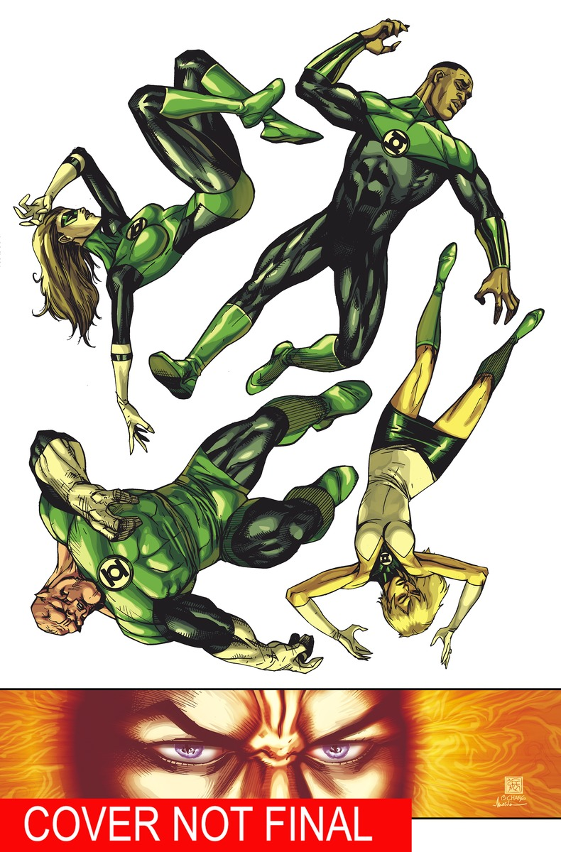 GREEN LANTERN CORPS VOL. 6 green light окислитель 20 vol 6