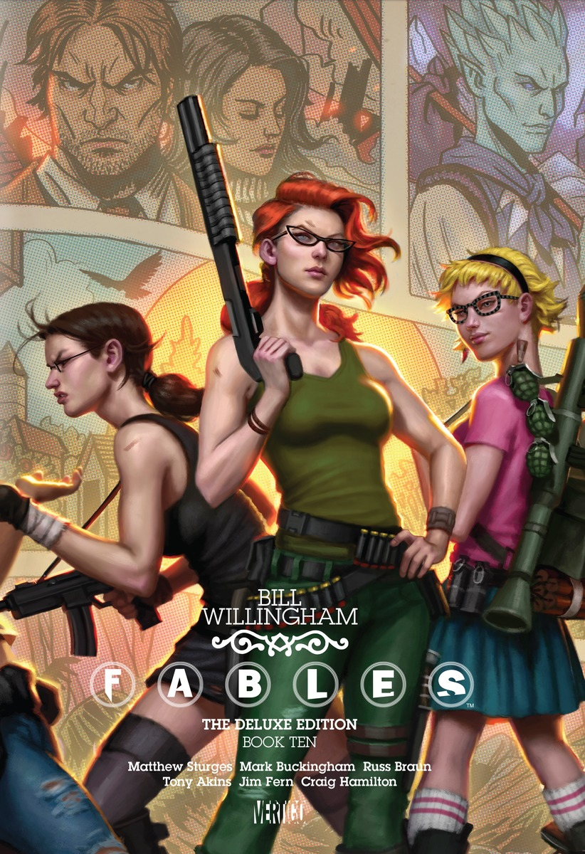 Fables: Book 10 fables volume 5 the mean seasons