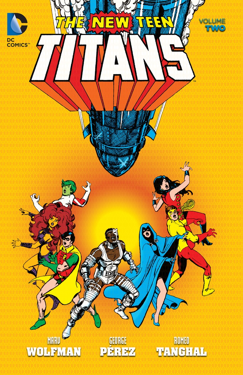 NEW TEEN TITANS VOL. 2 tiny titans vol 01
