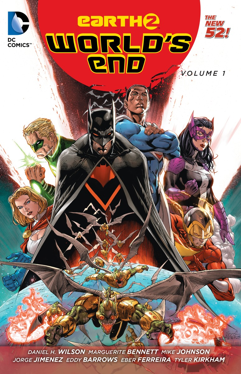 EARTH 2: WORLD'S END VOL. 1 earth 2 vol 3 battle cry the new 52