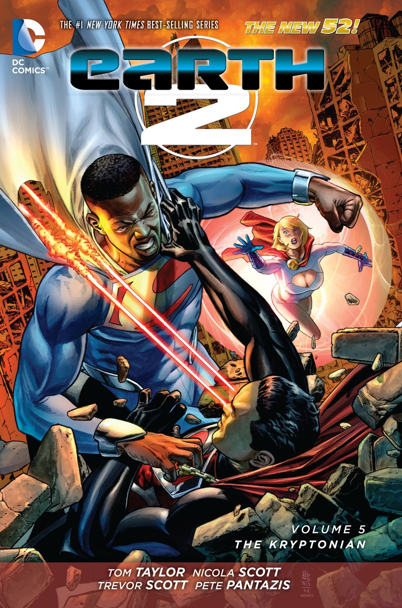 EARTH 2 V5: THE KRYPTONIAN earth 2 vol 3 battle cry the new 52