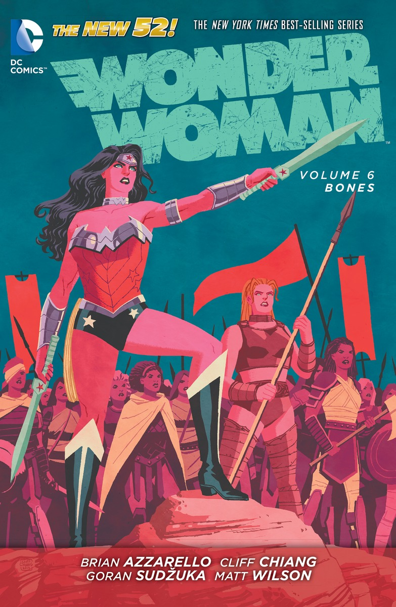 WONDER WOMAN VOL. 6: BONES wonder woman the golden age omnibus vol 1
