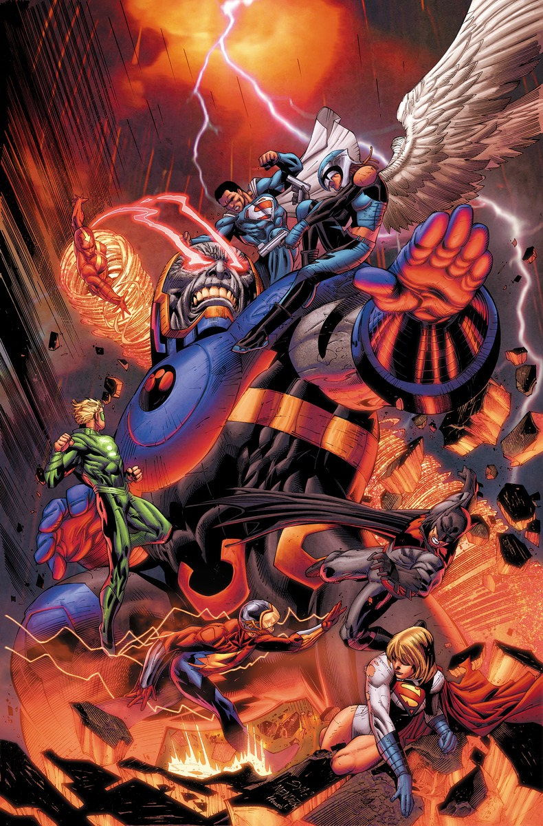 EARTH 2 WORLD'S END VOL. 2 suicide squad vol 5 apokolips now