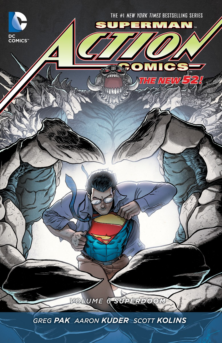 SUPERMAN - ACTION COMICS V6 grant morrison superman action comics vol 3 at the end of days the new 52