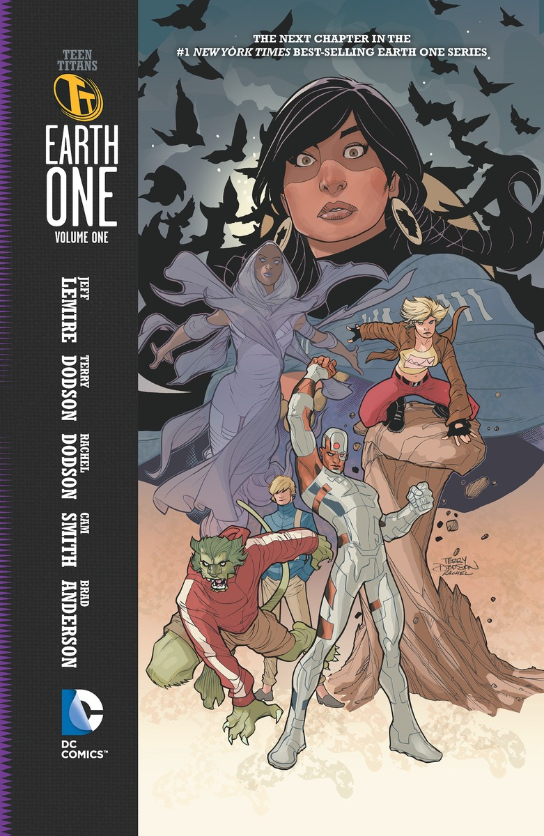TEEN TITANS: EARTH ONE V1 karin kukkonen studying comics and graphic novels