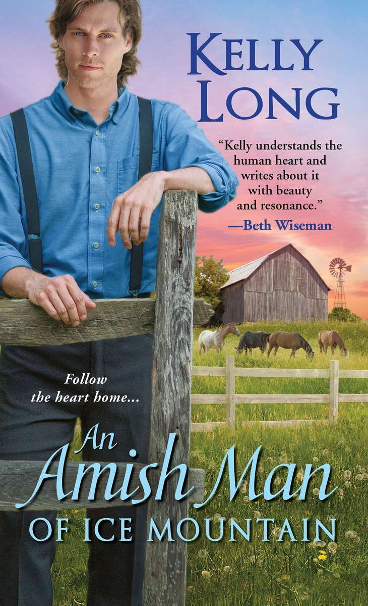 AMISH MAN OF ICE MOUNTAIN from the valley to the mountain top