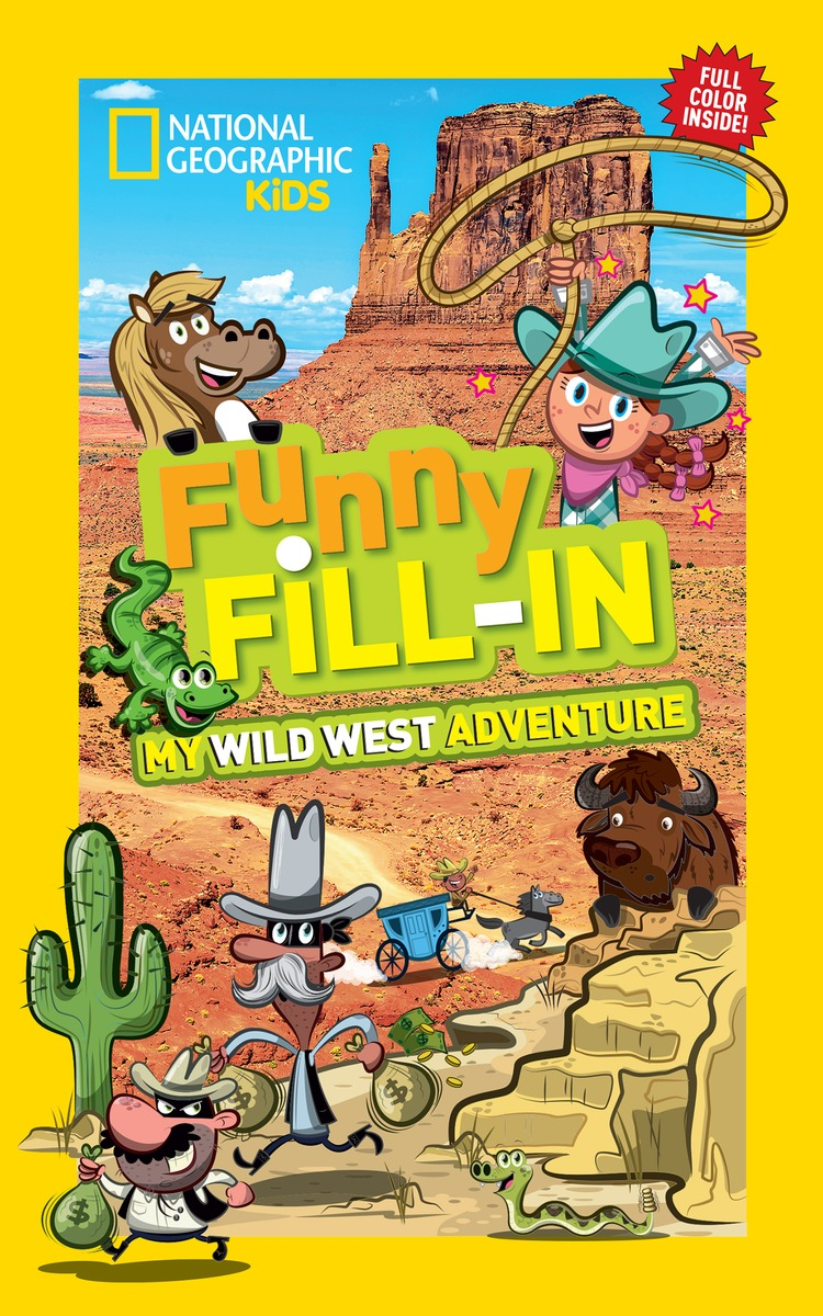 FUNNY FILL-IN: WILD WEST laugh out loud holiday jokes for kids