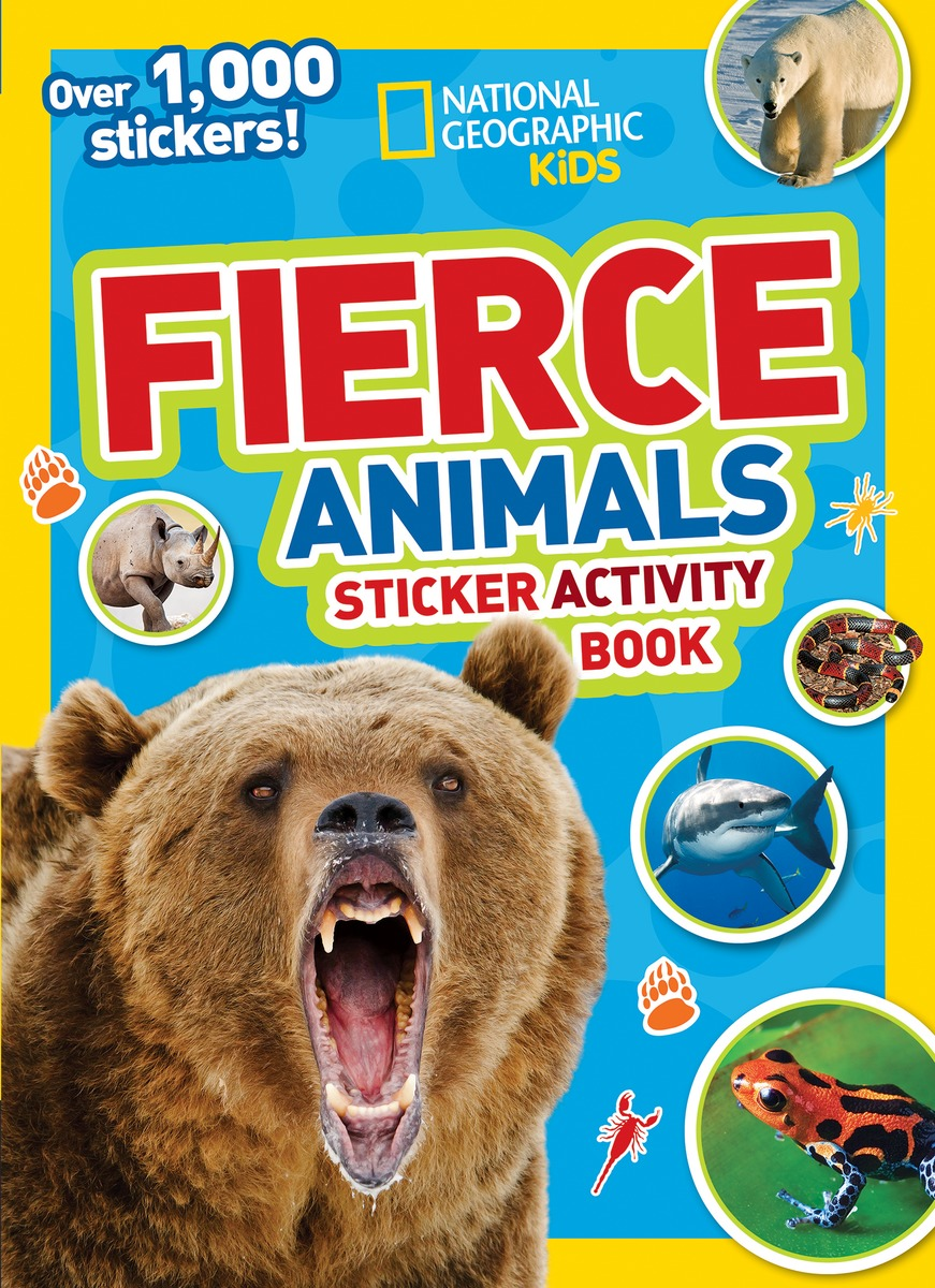 NGK FIERCE ANIMALS STICKERS ngk br8hs