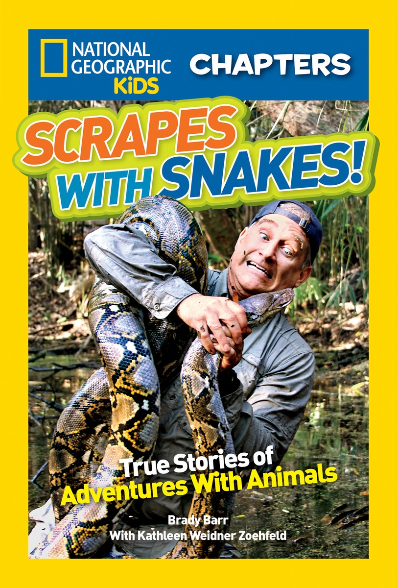 NGK CHAPTERS: SNAKES RLB national geographic kids chapters scrapes with snakes