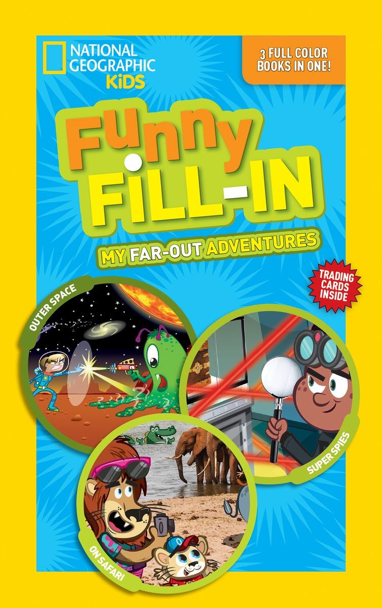 Купить FUNNY FILL-IN: FAR OUT ADVENTU
