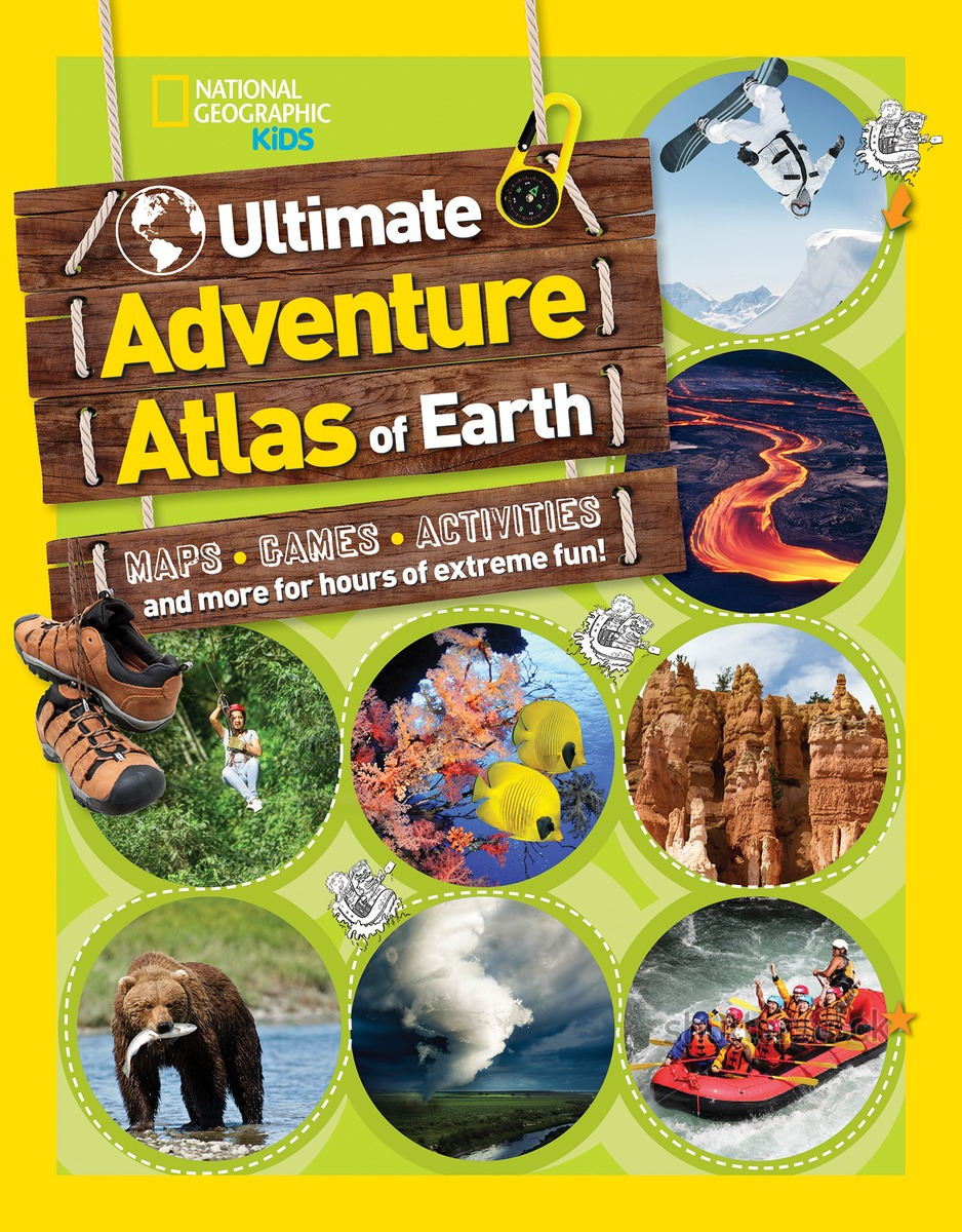 ULTIMATE ADVENTURE ATLAS all the bright places