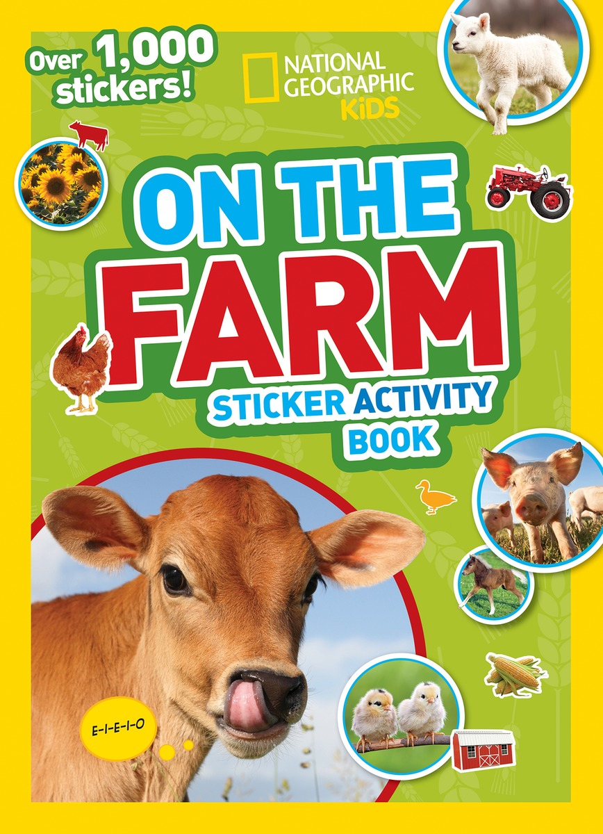 NGK FARM STICKERS maisy s farm sticker book