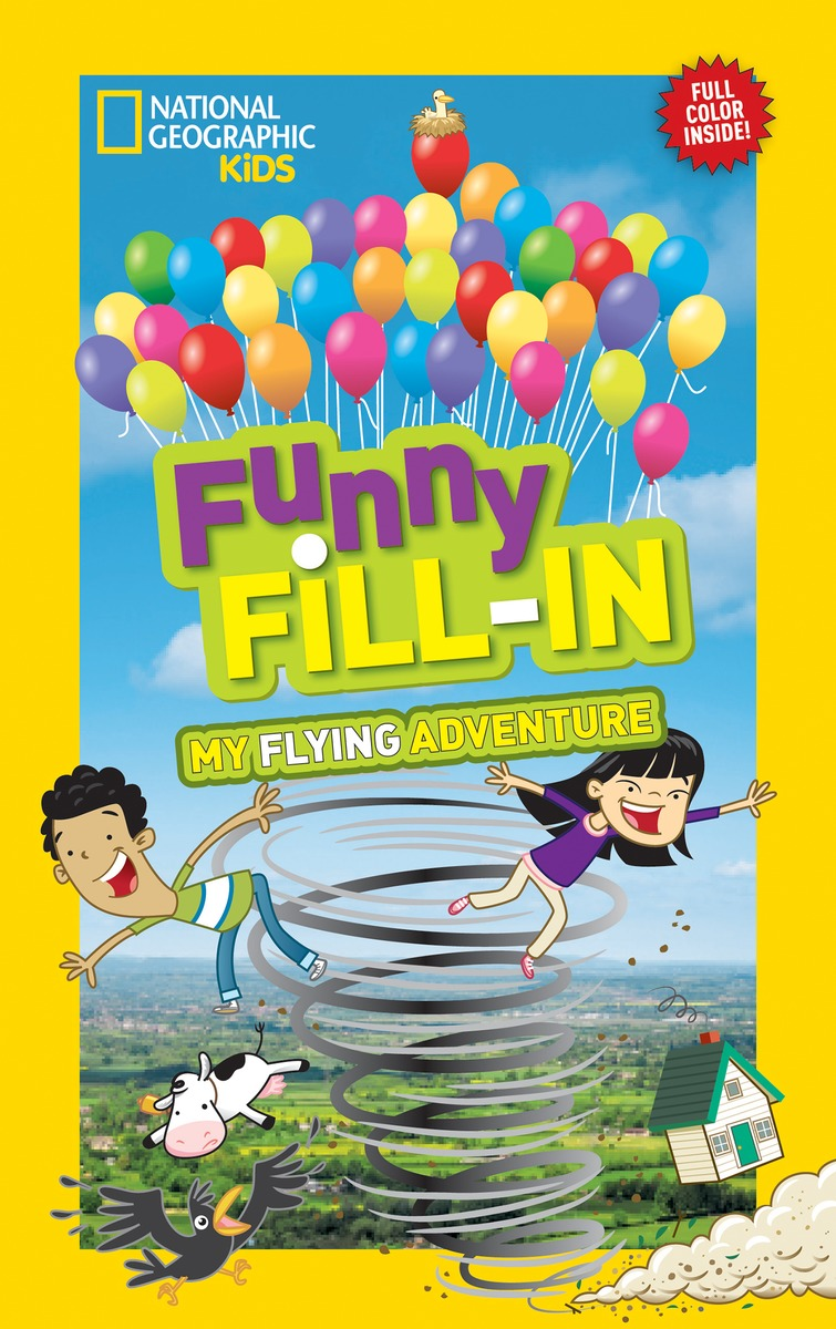 FUNNY FILL-IN: FLYING laugh out loud holiday jokes for kids