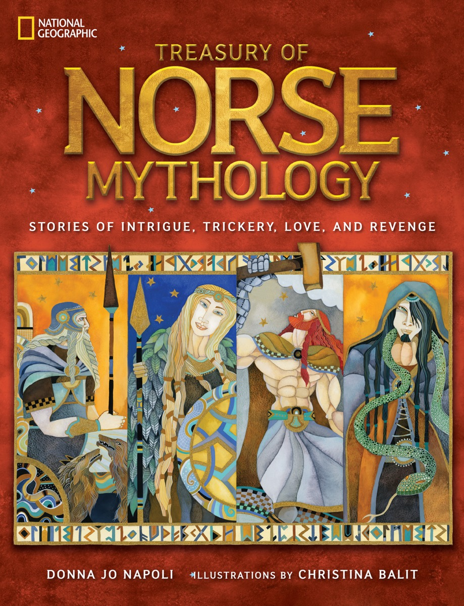 TREAS OF NORSE MYTHOLOGY illustrated norse myths