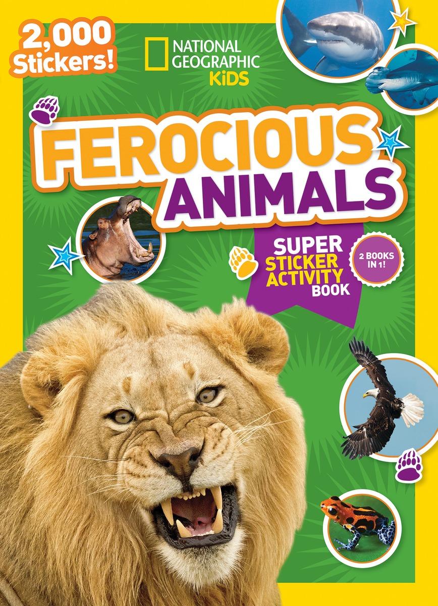 NGK FEROCIOUS ANIMALS STICKER