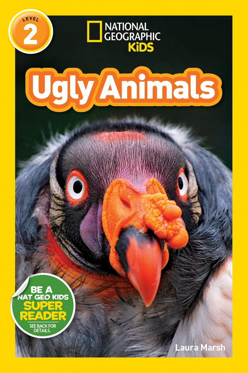 NGR UGLY ANIMALS wild animals activity book level 2