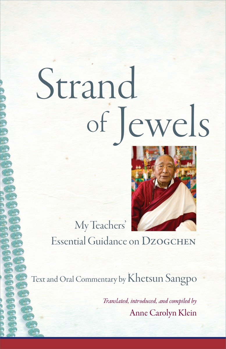 STRAND OF JEWELS buddhist philosophy