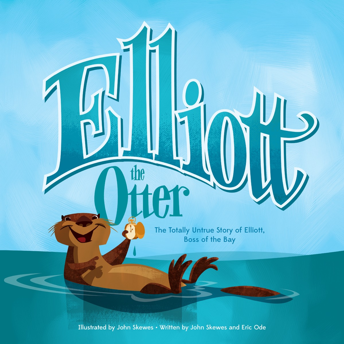 ELLIOTT THE OTTER the salmon who dared to leap higher