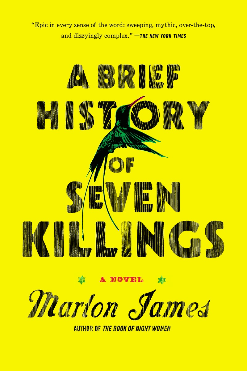 A Brief History of Seven Killings smile jamaica marley