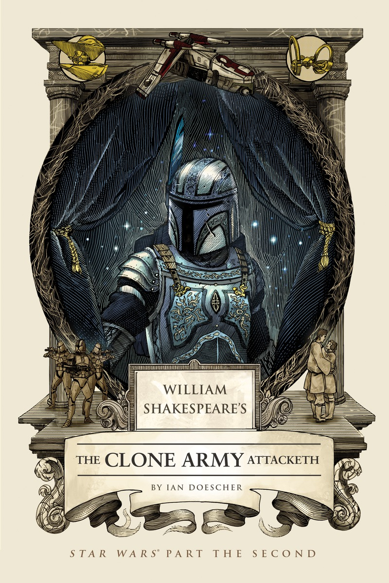 William Shakespeare's: The Clone Army Attacketh shakespeare w the merchant of venice книга для чтения