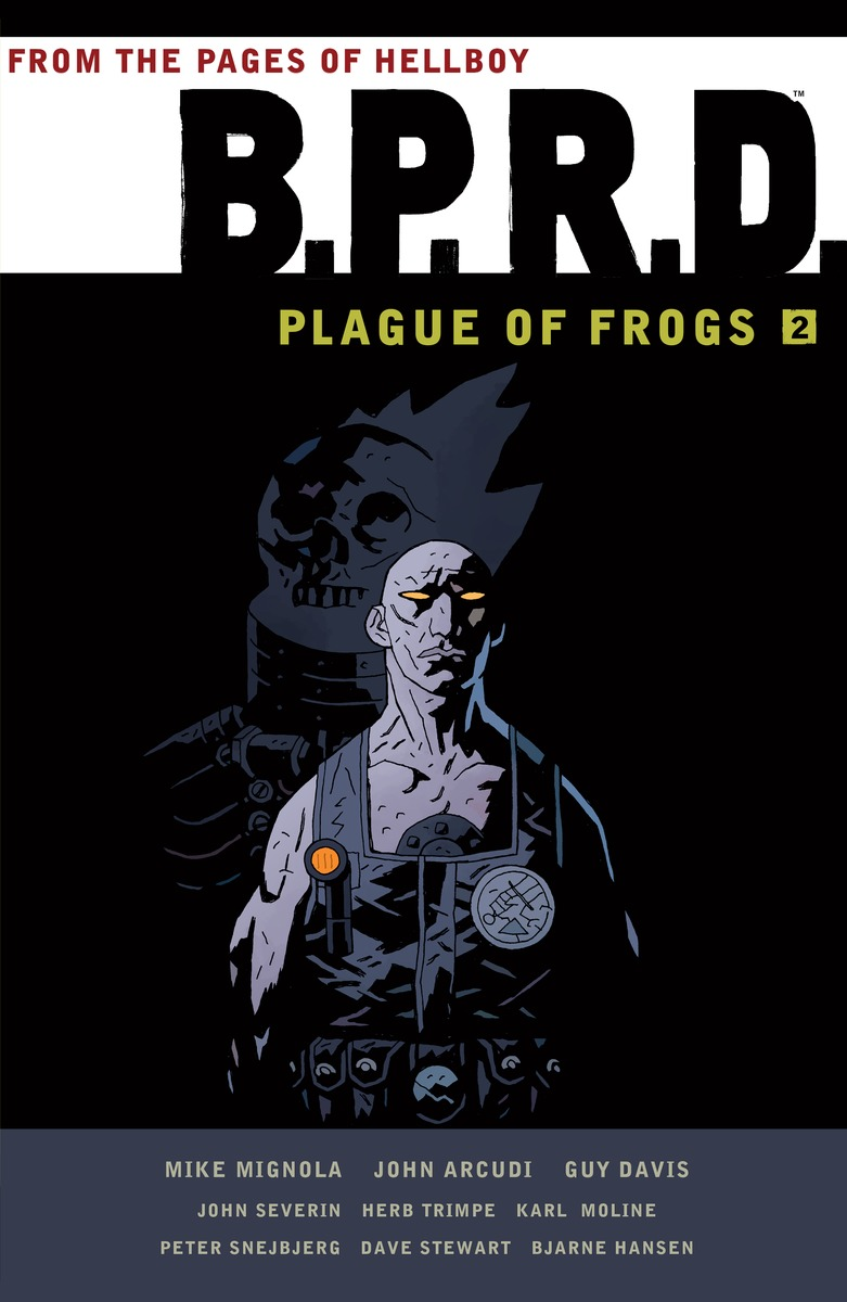 BPRD: PLAGUE OF FROGS VOL. 2 dali katch moss green