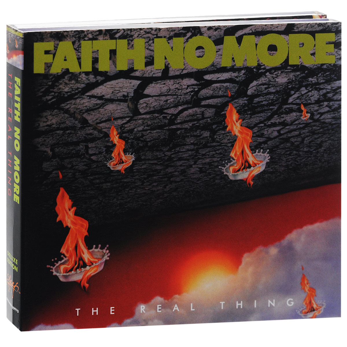 Faith No More Faith No More. The Real Thing. Deluxe Edition (2 CD) faith no more angel dusto 2cd cd