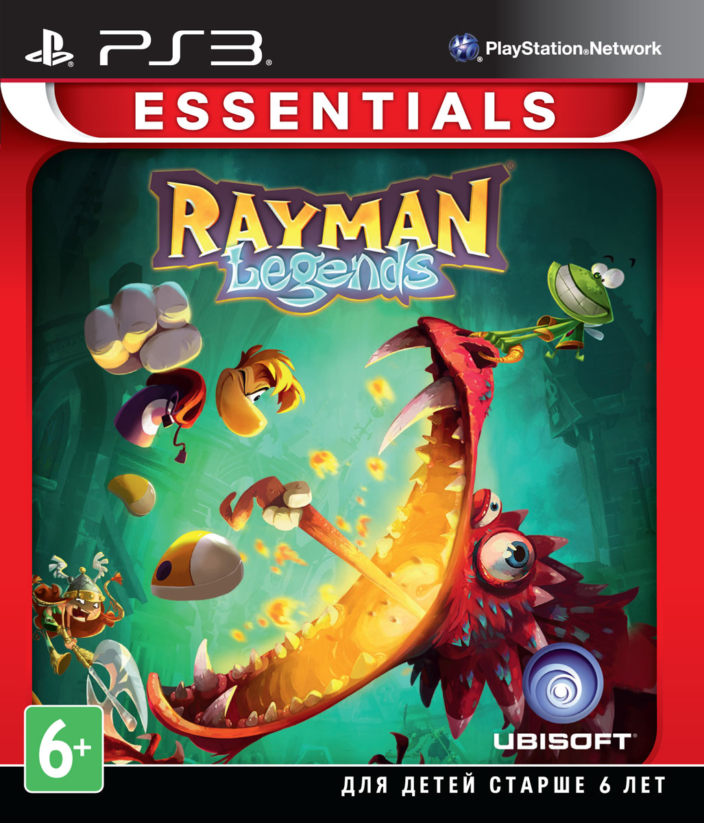 Rayman Legends. Essentials (PS3)  ubisoft rayman legends sony playstation 3