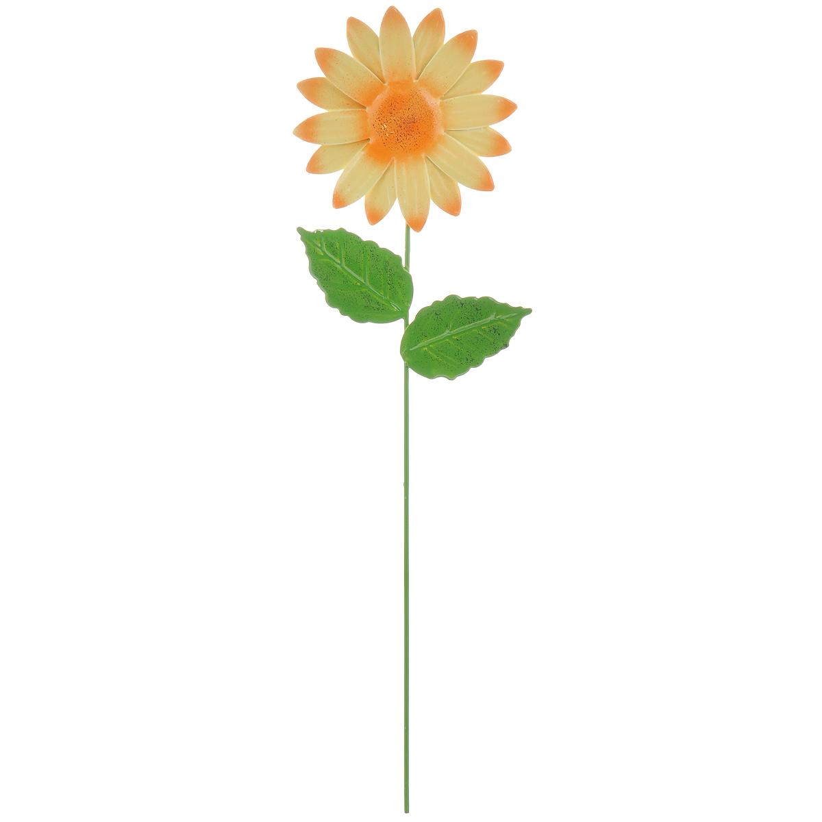 Украшение на ножке Village People Астры, цвет: желтый, высота 28,5 см67162_2Украшение на ножке Village People Астры предназначено для декорирования садового участка, грядок, клумб, цветочных кашпо, а также для поддержки и правильного роста растений. Изделие в ярком симпатичном дизайне выполнено из прочного и надежного металла, легко устанавливается в землю. Оно украсит ваш сад и добавит ярких красок.