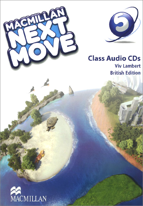 Macmillan Next Move: Level 5 (аудиокурс на 2 CD) next move british english level 2 teacher s presentation kit