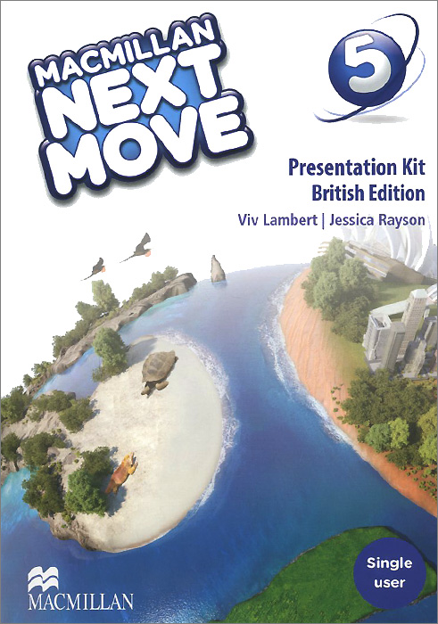 Macmillan Next Move: Presentation Kit: Level 5 (аудиокурс на DVD-ROM) think british english 2 presentation plus dvd rom