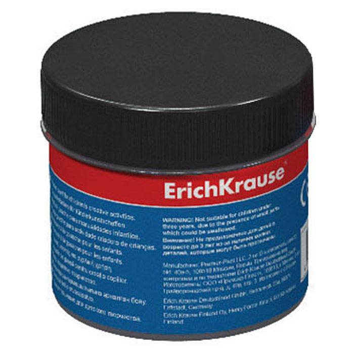 """Гуашь """"Erich Krause"""", цвет: черный, 100 мл"""