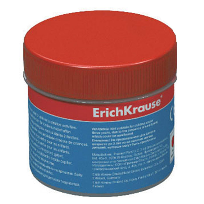 Гуашь Erich Krause, цвет: красный, 100 мл35121Гуашь Erich Krause откроет дверь в волшебный мир творчества для вашего ребенка. Бочка с гуашью закрывается винтовой крышкой. Краски легко наносятся на бумагу, картон или грунтованный холст. Легко размываются водой и быстро сохнут. Рисование не просто подарит радость вашему малышу, но и поможет ему стать более усидчивым и наблюдательным, развивая способность видеть мир во всех его красках и оттенках. Характеристики: Объем баночки с краской: 100 мл. Размер баночки: 5 см х 5,5 см х 5 см.Изготовитель: Россия.